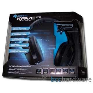 ROCCAT KAVE XTD 5.1 Digital – Premium 5.1 Surround Gaming Headset with USB Remote & Sound Card