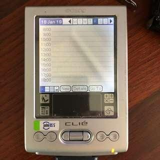 Sony Clie PEG-TJ25/G Personal Digital Assistant Launched in Year 2003-2004