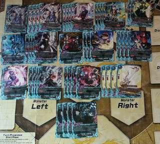 Buddyfight Magic World Mystic Knight Deck(Incomplete)