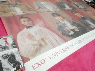 EXO Universe Poster (with poster tube)