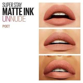 Maybelline Superstay Matte Ink POET