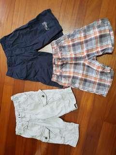 Osh kosh,  billabong, fox boys pants