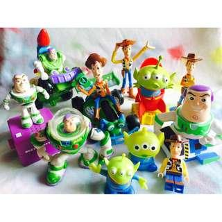 Take ALL Toys Story Lot