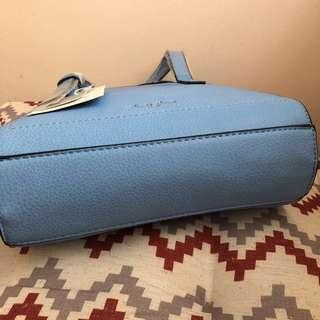 Legato Largo By Anello 2 Way Mini-Bag in Sax