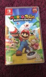 Switch game Mario Rabbids kingdom battle