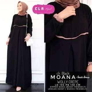 5 colors long dress (DRESS ONLY)