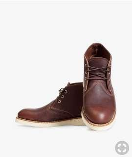 Red Wing 3141 boots US9 Chukka Alden Leather