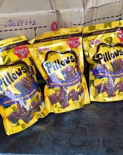 菲律賓爆漿巧克力脆片Pillows、枕頭餅乾