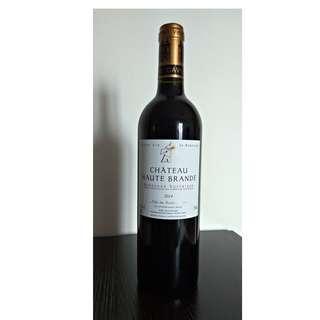 ($80) 法國紅酒Chateau Haute Brande