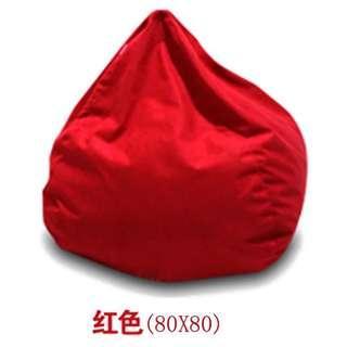 Red Beanbag sofa