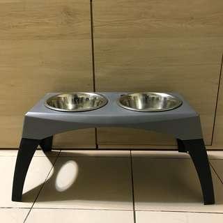 中、大型犬 碗架附碗