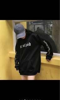 🚚 長袖帽t(過袖)