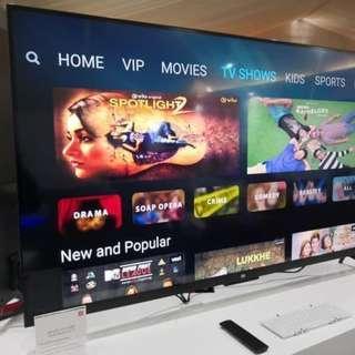 Xiaomi TV LED 4A 43 International Full Apps Jabotabek only - Hitam