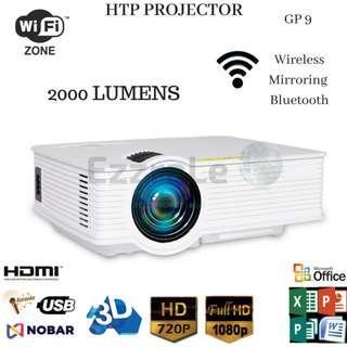 HTP Wireless Projector GP9 2000 Lumens vs UC46 + vs Cheerlux C6