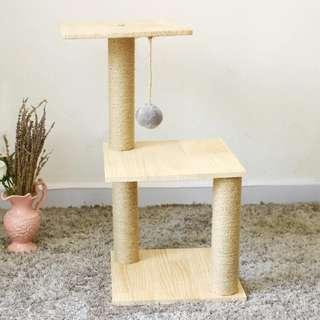 (Last 3/Instock) 3 Tier Simple Home Living Cat Tree