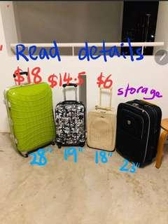 Kallang cheap some defect luggage bag travel suitcase