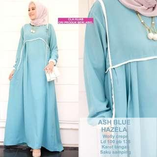 3 colors jubah Long dress (DRESS ONLY)