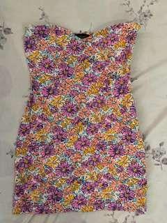 Topshop Tube Mini Dress