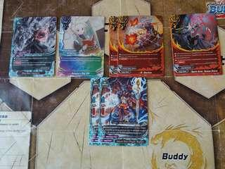 Buddyfight S-BT03 R's and P Foils