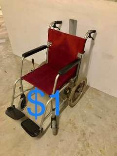 $1 a day kallang Rental  also have other foldable wheelchair