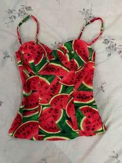 Watermelon Corset