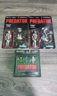 ReAction Figures Minimates Predator