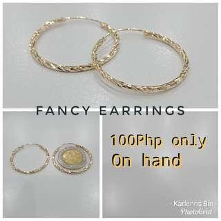 Fancy Earrings (Hypoallergenic)