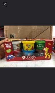 太子店 AMOS 泥膠 粘土 有3 色和6 色兩款可選 土耳其製造 全新 現貨