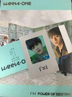 WTT Wanna One Power of Destiny album (Romance ver)