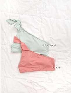 Eighth Mermaid Paloma Top CORAL
