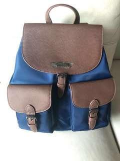 全新 Mizzue 藍色背包