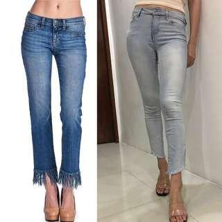 Auth💯Fringe Denim C Collection ( Retails at 40USD or 2thou)