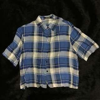 Romwe Buttoned Top