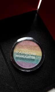 Focallure rainbow highlighter #bersihbersih