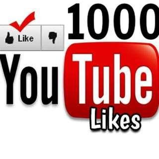 YouTube (Likes) & (Views)