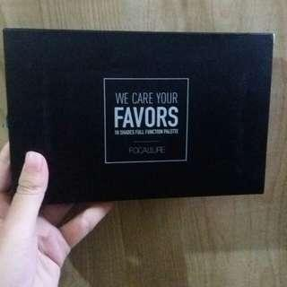 Focallure we care your favors eyeshadow pallete