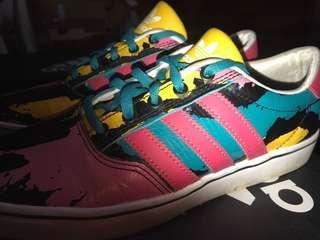 Adidas multicoloured shoes