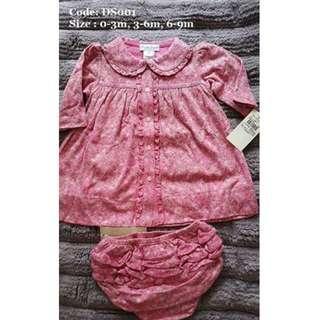 DS001 正貨Ralph Lauren BB裙套款清貨價,$55 件, $ 135 / 3件