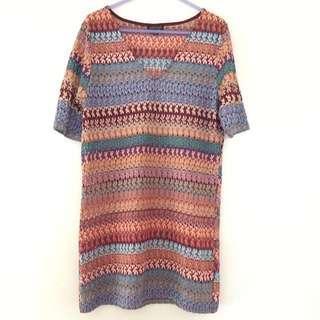 Boho T-shirt Dress