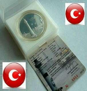 👉 TURKEY - 1 Troy Oz+ (999) Fine Silver Proof coin