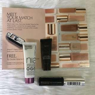 4pcs highend skincare & makeup (set 12)