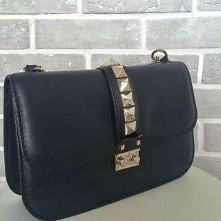 Authentic Valentino Rockstud Flap Bag