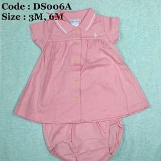 DS006A, B 正貨Ralph Lauren BB裙套款清貨價,$55 件, $ 135 / 3件