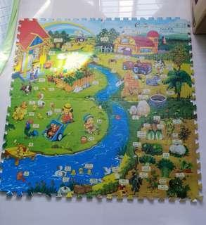 Lucky Baby Educational Play / Foam Mat