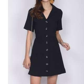 LF - TDC Harika Trench Sleeve Pockets Dress