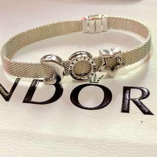 Pandora Reflexion Set17cm with 3 charms