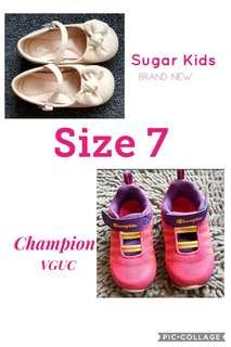 (Size 7) Shoes for Girls