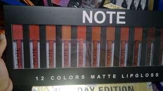 🚚 Note Lipstick Set