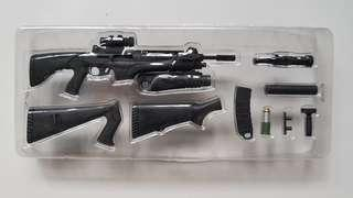 Machine Gun with changeable stock -1/6 scale