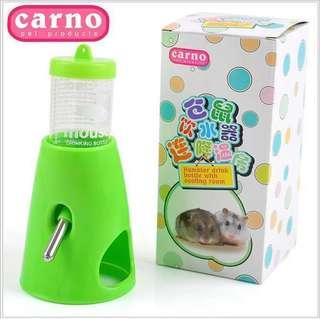 Hamster water bottles with cooling room